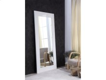 The View High Gloss White Lacquer Mirror