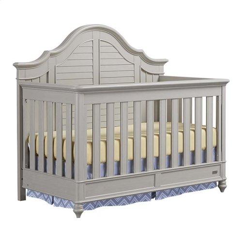 Cotton White Nantucket 4 in 1 Convertible Crib