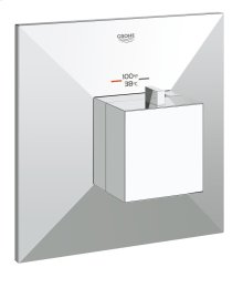 Allure Brilliant Custom Shower Thermostatic Trim with Control Module
