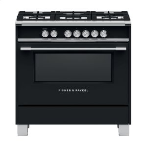 "FISHER & PAYKELGas Range, 36"", 5 Burners"