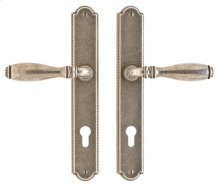 "Ellis Multi-Point Entry Set - 1 3/4"" x 11"" White Bronze Medium"