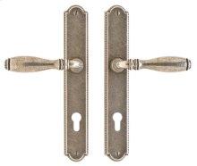 """Ellis Multi-Point Entry Set - 1 3/4"""" x 11"""" White Bronze Brushed"""