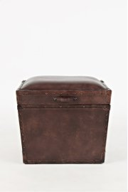 Global Archive Leather Storage Chest Product Image
