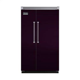 "Plum 48"" Quiet Cool™ Side-by-Side Refrigerator/Freezer - VISB Tru-Flush™ (48"" wide)"
