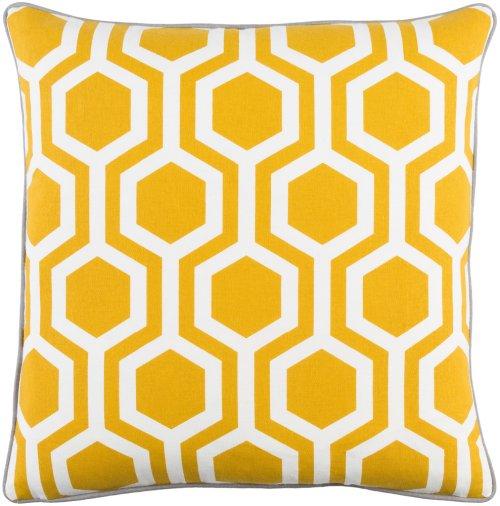 "Inga INGA-7011 18"" x 18"" Pillow Shell with Down Insert"