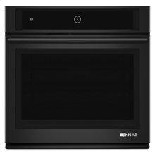 "Black Floating Glass 30"" Single Wall Oven with MultiMode® Convection System"