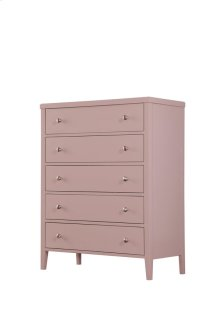 5 Drawer Chest-pink