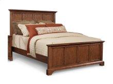 Retreat Cherry Panel Bed