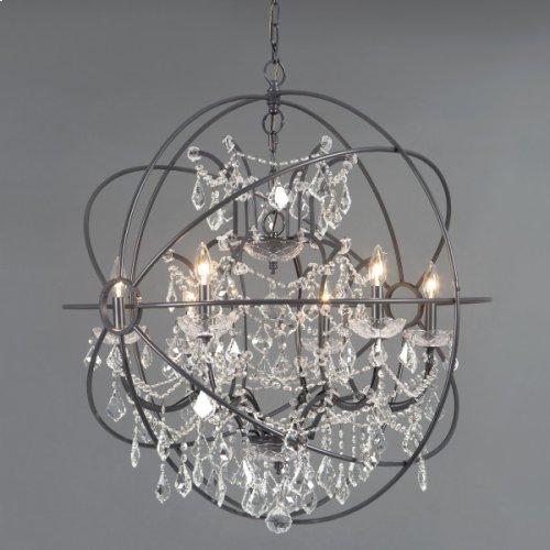 Contessa Collection Six Light Chandelier
