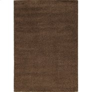 Shaggy 00010 Brown 4 x 6 Product Image