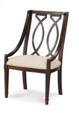 Intrigue Wood Back Arm Chair Product Image