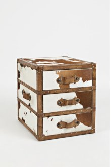 Global Archive Hair-on-hide Accent Chest