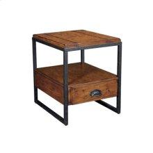 Baja Rectangular End Table W/ Drawer