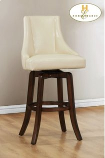 Counter Height Chair, Cream Product Image
