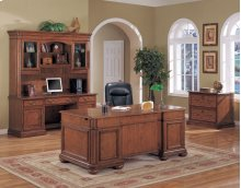 Viscante Cherry Executive Desk