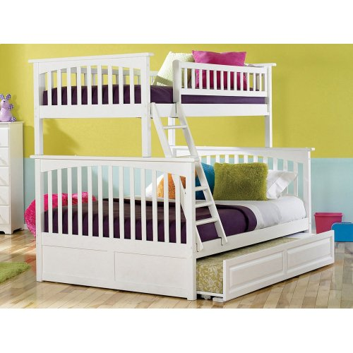 Ab55232 In By Atlantic Furniture In Sidney Me Columbia Bunk Bed