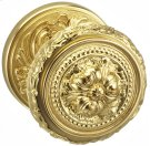Interior Ornate Knob Latchset - Solid Brass in BAS (Siena Brass, Lacquered) Product Image