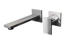 Targa Wall-Mounted Lav Faucet w/Single Handle