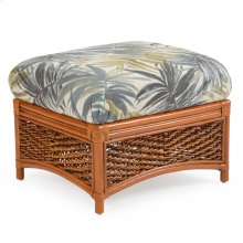 Rattan Rectangle Ottoman 3509