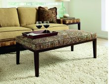 Abaco Island Upholstered Cocktail Bench