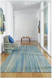 Hampton Seaglass Blue Flat Woven Rugs