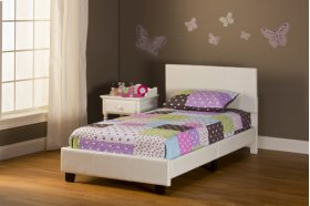 Springfield Twin Bed - White