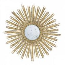 Large Gold Skovde Mirror