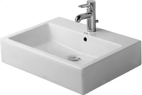 Vero Above-counter Basin Without Faucet Hole
