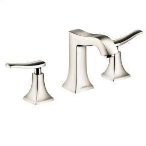 Polished Nickel Metris C Widespread Faucet, 1.2 GPM