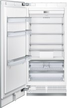 36-Inch Built-in Panel Ready Freezer Column with Internal Ice Maker Product Image