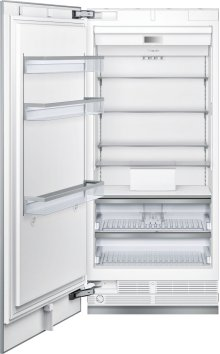 36-Inch Built-in Panel Ready Freezer Column with Internal Ice Maker