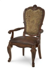 Old World Upholstered Back Arm Chair Product Image