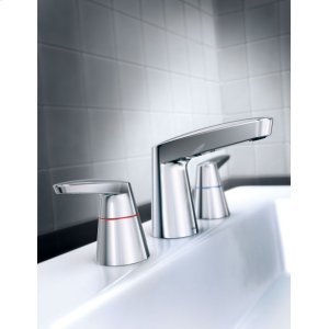 M-Dura chrome two-handle lavatory faucet