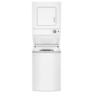 WhirlpoolWhirlpool® 1.6 cu.ft, 120V/20A Electric Stacked Laundry Center with 6 Wash cycles and Wrinkle Shield™ - White