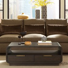 Precision - Coffee Table - Umber Finish