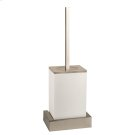 White wall mounted brush holder Product Image