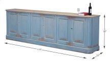 Sky Blue Sideboard