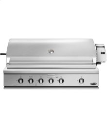 "48"" Traditional Grill With Rotisserie, Griddle and Hybrid Ir Burner"