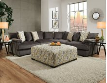 2100 Shamble Smoke Sectional