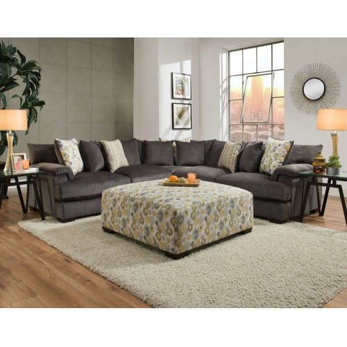 2100 Shambala Smoke 3-Piece Sectional