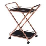 Vesuvius Serving Cart Rose Gold Product Image