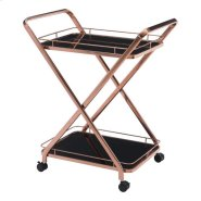 Vesuvius Serving Cart Rose Gold Product Image