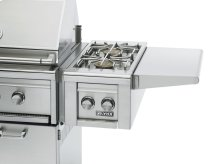 Cart Mounted Double Side Burner NG