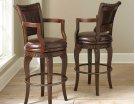 "Antoinette PU Swivel Bar Chair 23""W x 22""D x 47""H Product Image"