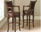 "Antoinette PU Swivel Bar Chair 23""W x 22""D x 47""H Product Image"