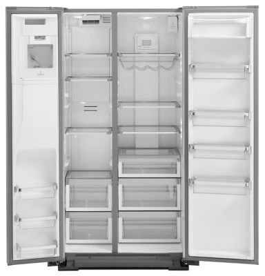 Ft. Counter Depth Side By Side Refrigerator With Exterior Ice