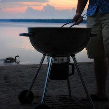 Rodeo Charcoal Kettle Grill in Black