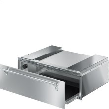"Food and Dish Warming Drawer for Compact Ovens, 30"" (76cm). Finger-proof Stainless Steel Classic Aesthetics"