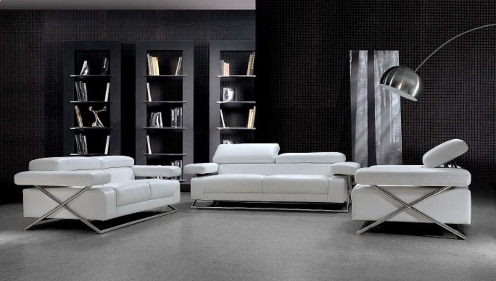 Divani Casa Linx   Modern Leather Sofa Set