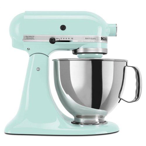 Exclusive Artisan® Series Stand Mixer & Ceramic Bowl Set - Ice